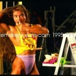 Female Muscle Bloopers
