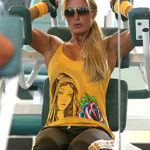 Paris Hilton Lifts Weights? Apparently So…
