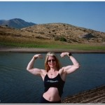 Lori Braun on the Snake River