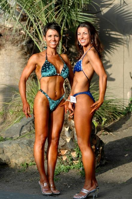 Curves Megan Johnson (l) and Friend Bronwen1