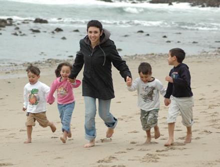 Curves_Megan Johnson and Kids