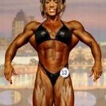 Isabelle Turell out of the Ms. Olympia