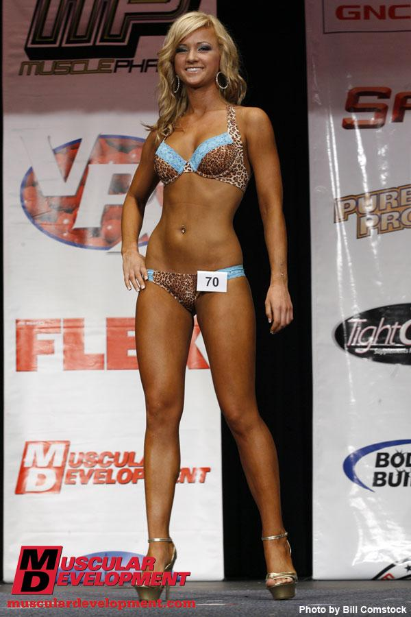 There were 25 competitors in Bikini Open with Natalya Frolova as the overall ...