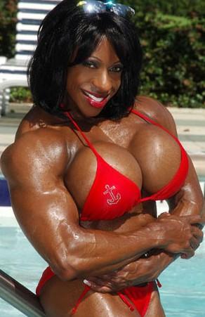 Black women bodybuilders yvette