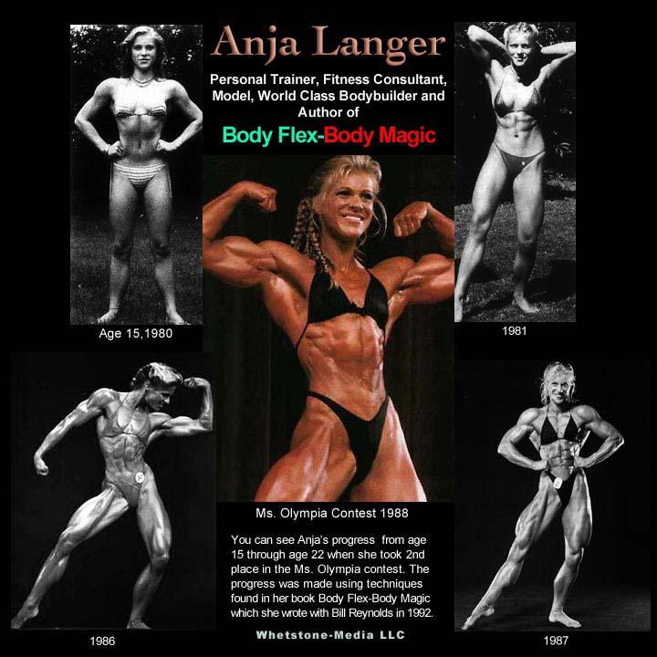 a19a1ca9b Anja Langer Female Bodybuilder Biography