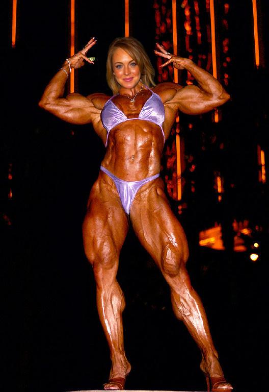 Female Celebrity Muscle Morph