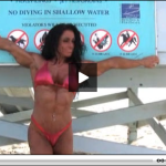 Bill Dobbins: Debbie Bramwell on the Beach