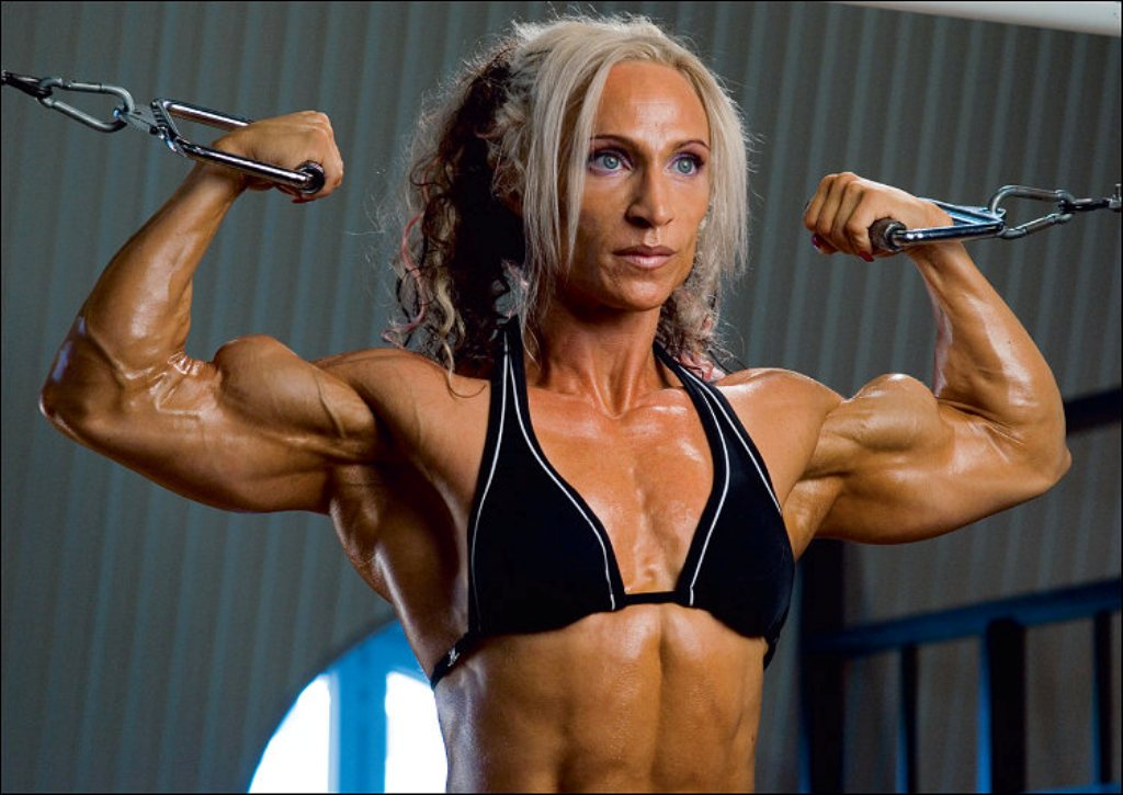 Huge Female Biceps Gallery
