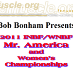 2011 Mr. America and Women's Championship Results