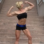 Amanda Harris: standing tall.