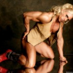 Muscle Photographer Bill Dobbins: Maria Calo In Boots