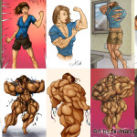 Fantasy Muscle: Female Muscle Growth Stories