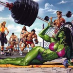 Fantasy Muscle: Artist Spotlight on Joe Jusko