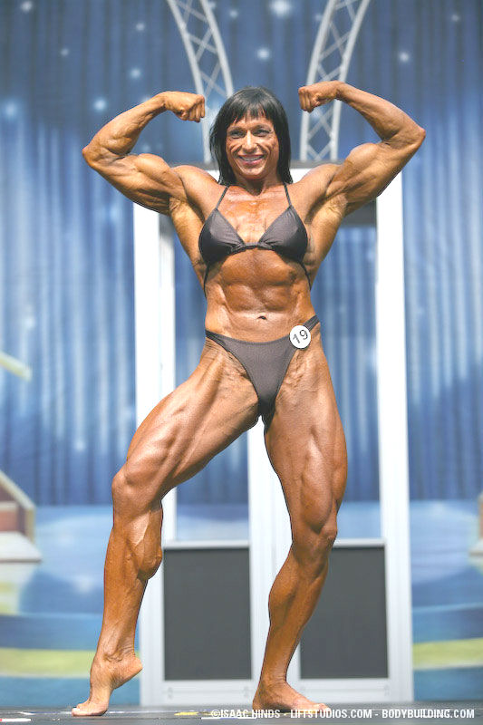 Female Bodybuilder Irene Anderson Gallery