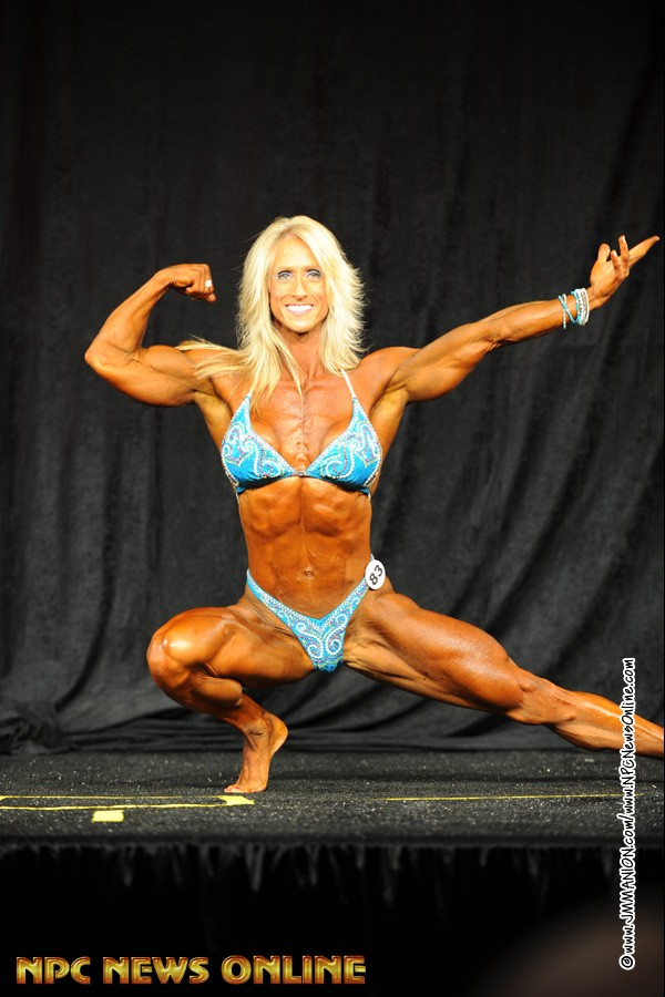 Sherri Gray Overall Winner in Women's Bodybuilding Division