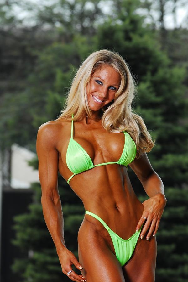 Nude woman bodybuilder angela salvagno naked 5
