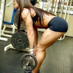 Barbell Bent Over Rows for Females