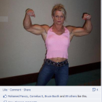 Female Bodybuilders Fun and Discussion on Facebook