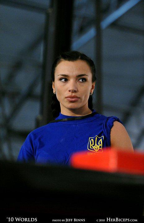 Natalya Truskalova  Sexy Ukrainian Armwrestle  Femalemuscle, Female Bodybuilding -6331