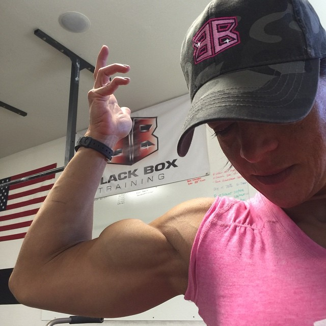 Female Bodybuilder Biceps