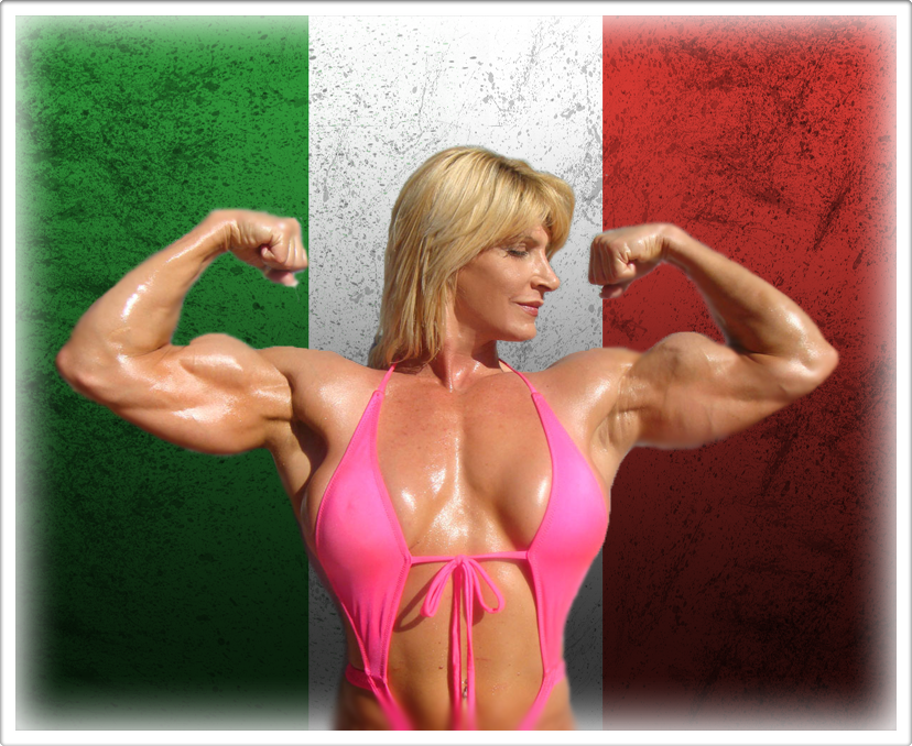 Female Bodybuilder Biceps