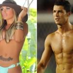 "Andressa ""Miss BumBum"" Urach stalks Cristiano Ronaldo at 2014 World Cup in Brazil"