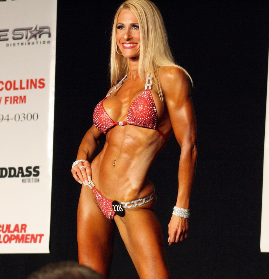 Jamie Hope Pollack - NPC- National Level Masters Bikini Competitor
