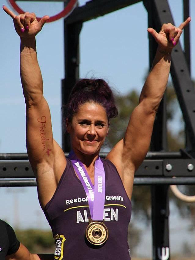 Amanda Allen - Crossfit Champion - Female Muscle