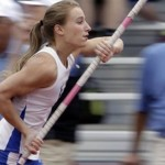Blind Pole Vaulter Charlotte Brown Wins State Championships Bronze