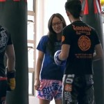 Nerdy Girl Beats Up Guys At The Gym