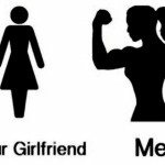 Your Girlfriend vs. Me