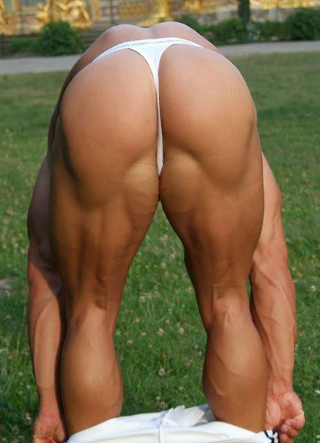 Gay muscle butt thong