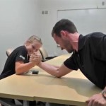 12-Year-Old Arm Wrestling Champ Grace Houston is an All Star Student