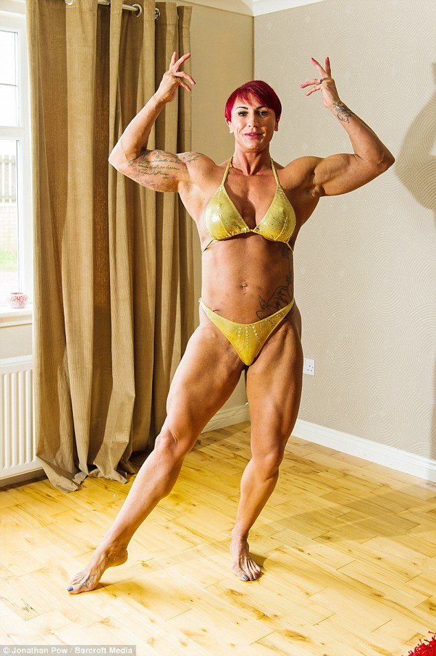 Supermom With 14-Inch Biceps Who Pumped Iron At Nine -8543