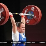 Belarus' Anastasia Novikova 4th At 2015 World Weightlifting Championship