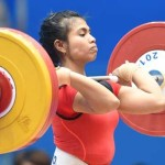 Indonesian Athlete Snatches Gold At Weightlifting Championship