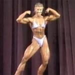 Anja Langer 1987 Ms. Olympia Posing Routine