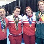 Powerlifter Frances Manias Finishes Third At Commonwealth Powerlifting Federation's Championships