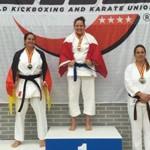 Waterdown's Krista Webb Takes World Kickboxing And Karate Title