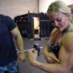 Men's Physique Meets Women's Fitness