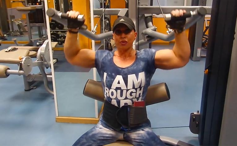 Back strong training preparation  Virginia Sanchez part