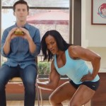 Lenda Murray Flexes Her Muscles In Wendy's Black Bean Burger Commercial