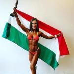 Hungarian Model Wins Bikini Class At Arnold Classic