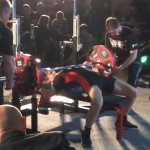 Jennifer Thompson World Record Bench Press 311 lbs