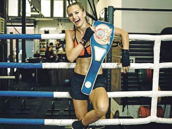 Lauryn Eagle has few regrets about her boxing career. Picture: Nigel Lough