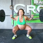 Meghan Leatherman Crossfits Two Days Before Her Due Date