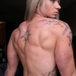 Female Bodybuilder tattoos