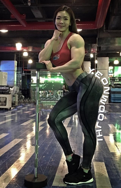 Jhi Yeon-woo | FemaleMuscle, Female Bodybuilding and
